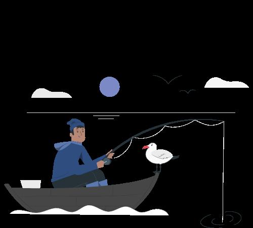 Jack-fishing